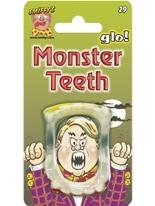 Brillent dans les dents du monstre des ténèbres Accessoire Halloween