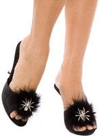 Araignée Shoe Clips noir Accessoire Halloween