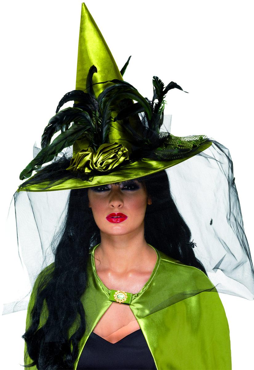 chapeau de sorci re chartreuse deluxe chapeau de sorci re costume halloween 08 09 2018. Black Bedroom Furniture Sets. Home Design Ideas
