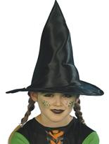 Childrens sorcière chapeau tissu noir Chapeau de sorcière