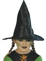 Chapeau de sorcière Childrens sorcière chapeau tissu noir