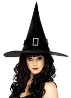 Chapeau de sorcières Diamante noir Chapeau de sorcière