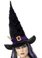 Twisty Witchs chapeau noir Chapeau de sorcière