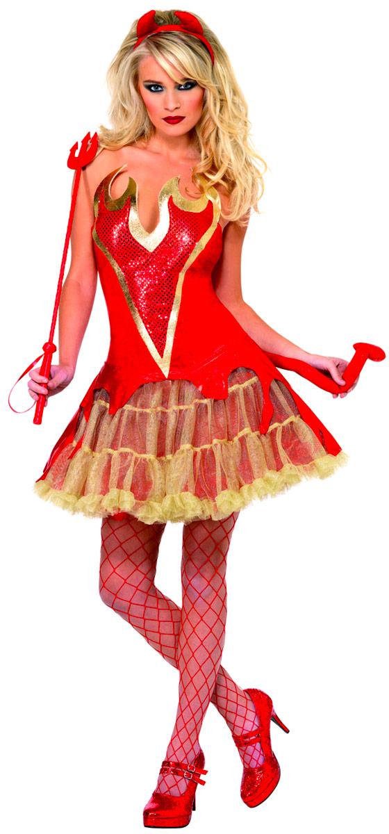 Déguisement diable Flamin Devil Costume