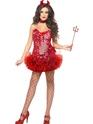 Déguisement diable Costume de diable rouge de fièvre