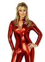 Fièvre Miss-Tress Catsuit Costume Déguisement diable