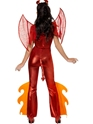 Déguisement diable Costume de diable rouge flamme