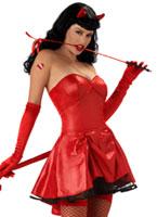 Ne pas marcher sur moi Betty Page Costume Déguisement diable