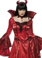 Costume de tentatrice du diable Déguisement diable