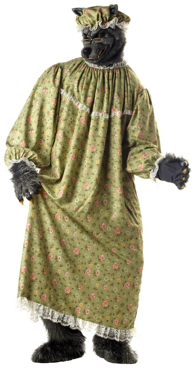 Costumes de loup-garou Costume de loup Granny