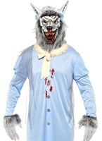 Costume de grand méchant loup Granny Costumes de loup-garou