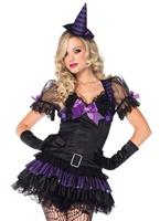 Costume Babe Black Magic Déguisement de sorcière