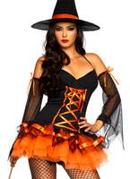 Hocus Pocus Hottie Costume Déguisement de sorcière