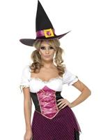 Costume sorcière coloré Cutie Déguisement de sorcière