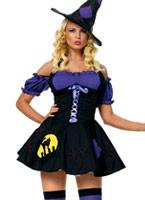 Costume sorcière Magic Spell Déguisement de sorcière