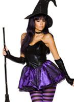 Costume de méchante sorcière Rebel Toons Déguisement de sorcière