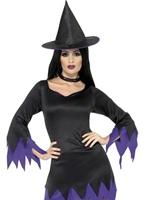Costume sorcière noir Déguisement de sorcière