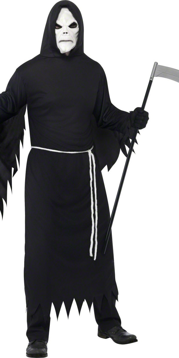 grim reaper costume noir d guisement squelette costume halloween 02 11 2018. Black Bedroom Furniture Sets. Home Design Ideas