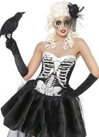 Costume Skelly Von Trap Déguisement Squelette