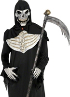 Costume Deluxe Grim Reaper Déguisement Squelette