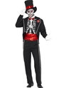 Déguisement Squelette Jour de la mort Costume