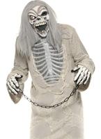 Enchaîné Costume de fantôme Déguisement Squelette