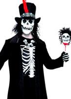 Costume homme vaudou Déguisement Squelette