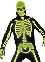 Manoir gothique cimetière OS Costume Déguisement Squelette