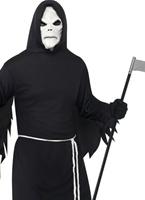 Grim Reaper Costume noir Déguisement Squelette