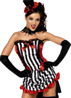Madame fièvre Vamp Costume Costumes Vampire