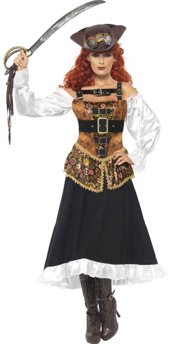 steam punk pirate wench costume costume science fiction costume halloween 17 04 2019. Black Bedroom Furniture Sets. Home Design Ideas