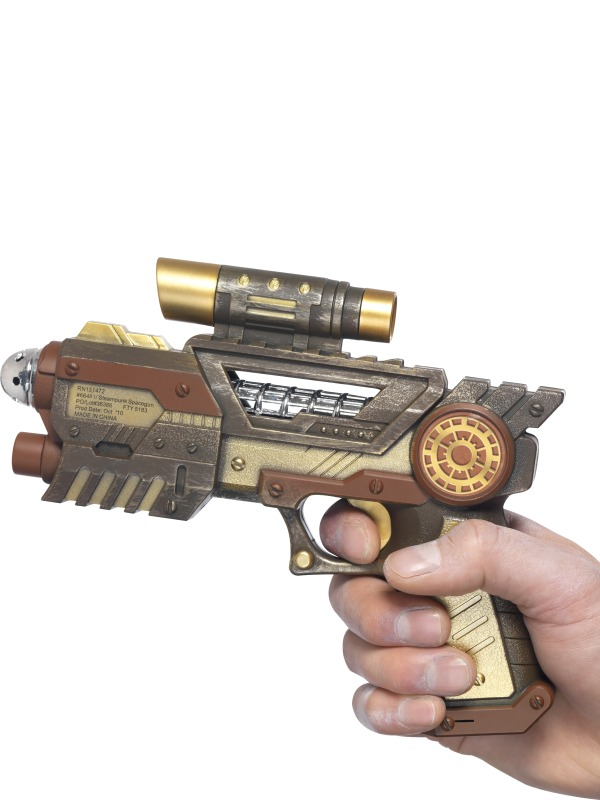 Costume Science Fiction Pistolet futuriste steampunk