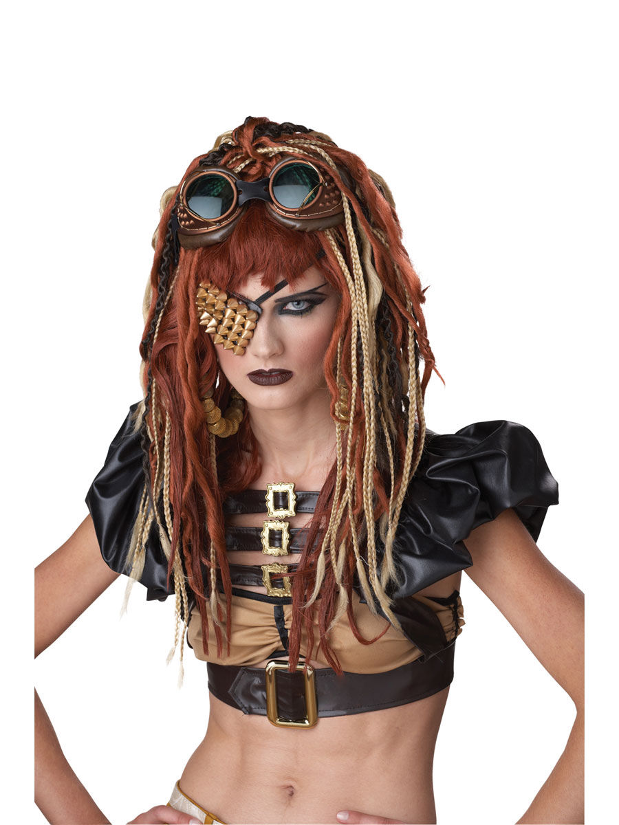 Costume Science Fiction Perruque Dreads Apocalypse