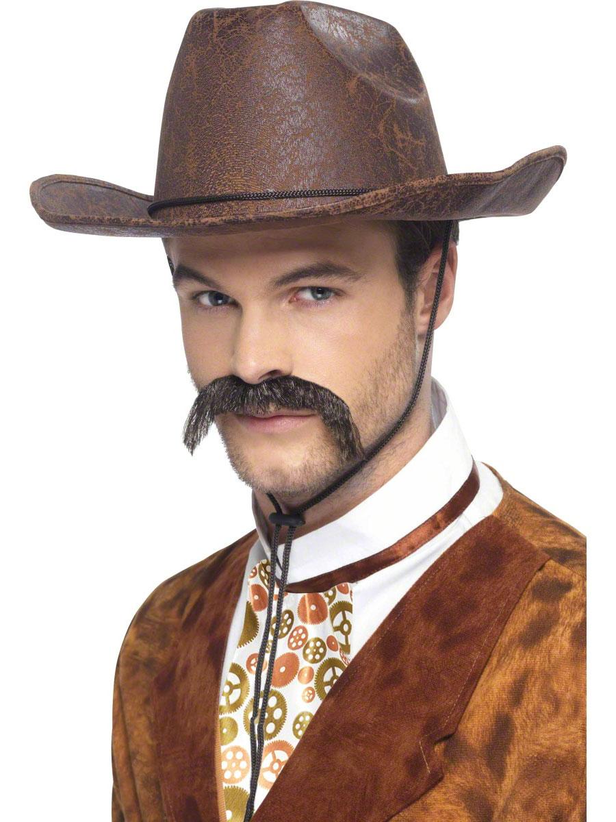 Costume Science Fiction Chapeau de Cowboy Punk de vapeur