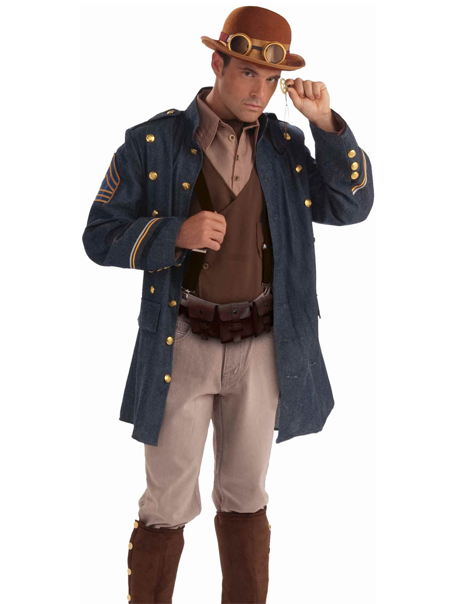 costume de g n ral steampunk costume science fiction costume halloween 29 04 2019. Black Bedroom Furniture Sets. Home Design Ideas