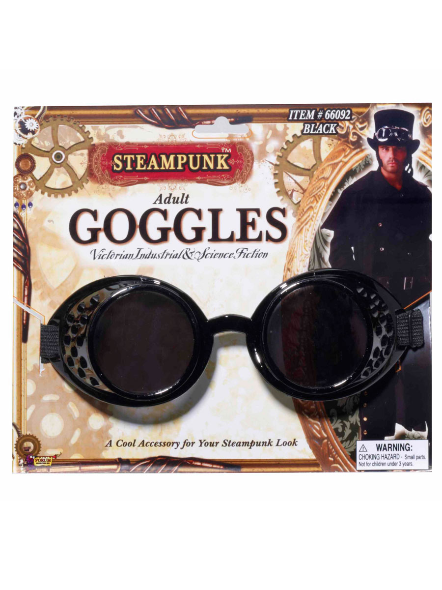 Costume Science Fiction Lunettes steampunk