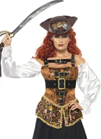 Steam Punk Pirate Wench Costume Costume Science Fiction