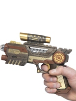 Pistolet futuriste steampunk Costume Science Fiction