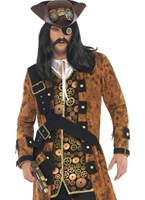 Costume de Pirate Punk de vapeur Costume Science Fiction