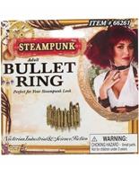 Bague steampunk Bullet Costume Science Fiction