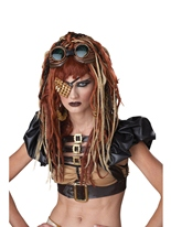 Perruque Dreads Apocalypse Costume Science Fiction