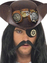 steampunk Eyepatch avec Cog Costume Science Fiction