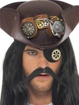 steampunk Eyepatch avec Cog Costume Science Fiction