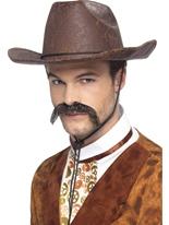 Chapeau de Cowboy Punk de vapeur Costume Science Fiction