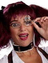 Clip de Monocle steampunk pour lunettes Costume Science Fiction