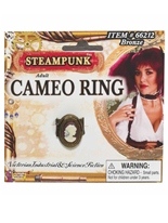 Bague camée steampunk Costume Science Fiction
