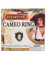Bague camée steampunk Costume Science Fiction