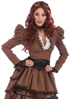 Costume de Vicky steampunk Costume Science Fiction