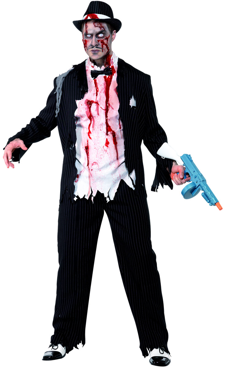 Costume Zombie Costume de Gangster de Zombie