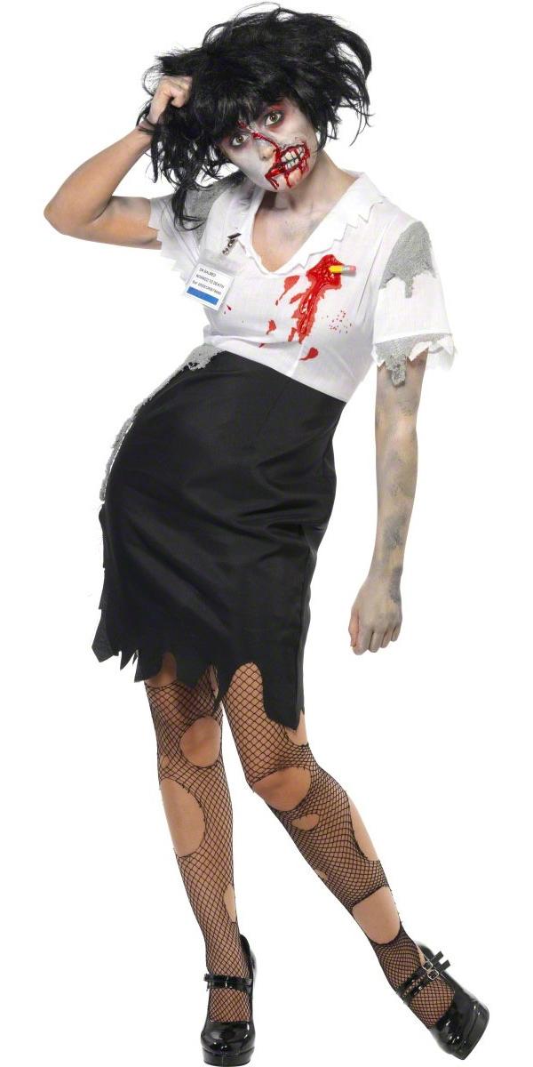 Costume Zombie A travaillé à mort Zombie homme Costume